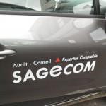 Véhicule Sagecom
